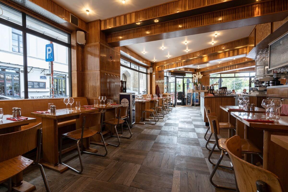 Le Variétés - Restaurant - Place Flagey (Brussel)